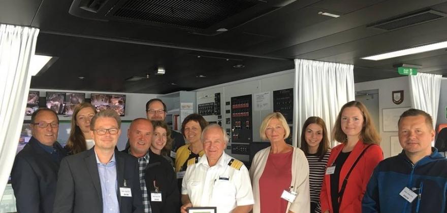 TUI Cruises takket Nordkapp-samfunnet