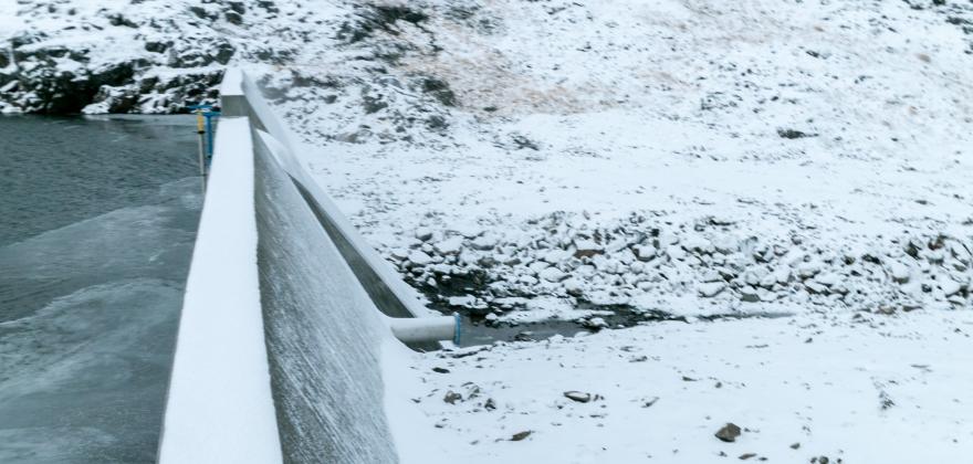 Kamøyvær vannverk nedre, er ferdig