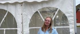 Berg: Teltet skal skape festivalstemning