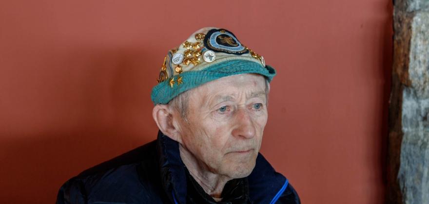 Ingvald Gjertsen gikk ikke Nordkappmarsjen i år