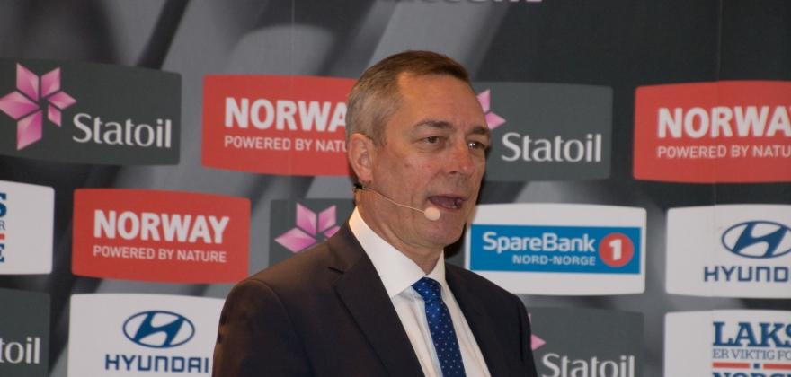 Stolt finnmarking og forsvarsminister