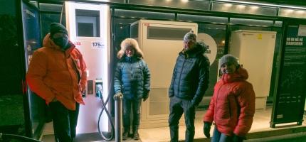 Skaidi: Lynlader åpner i januar