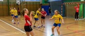 To håndballkamper i Honningsvåg