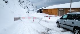 Nordvågveien stengt - blir ikke åpnet mandag