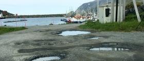 Kommunen tar tak i den dårlige vegstandarden i Skarsvåg