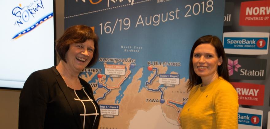 Kjøllefjord skal være klar til Arctic Race of Norway