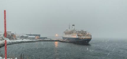 Alt klart for sesongens første cruiseskip