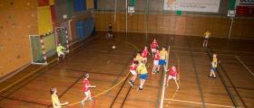 Ble spilt håndballkamper på lørdag i Honningsvåg