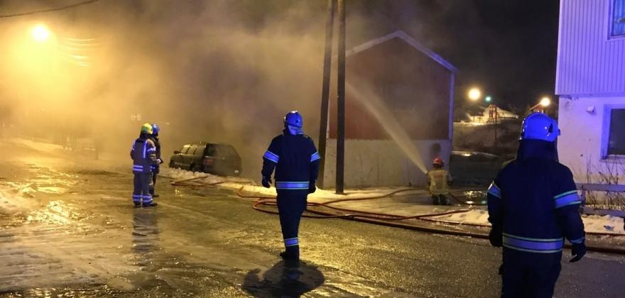 Pågrepet etter brann i Kjøllefjord