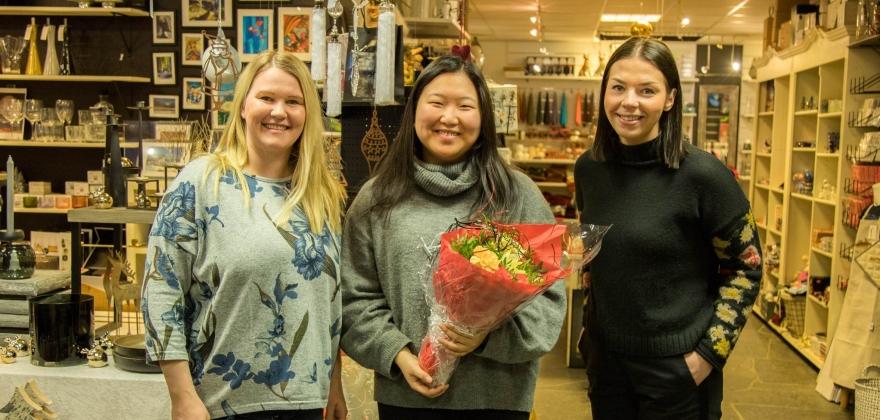 Har kåret vinnere i julekonkurranser i Honningsvåg