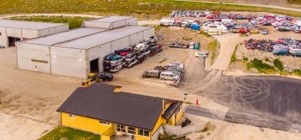 En måned med drift i Billefjord