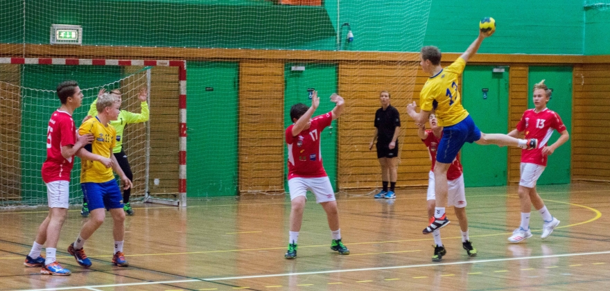 Mange håndballkamper i Honningsvåg i helgen