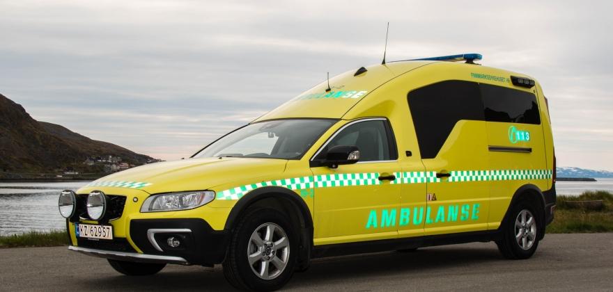 Trafikkulykke i Porsanger