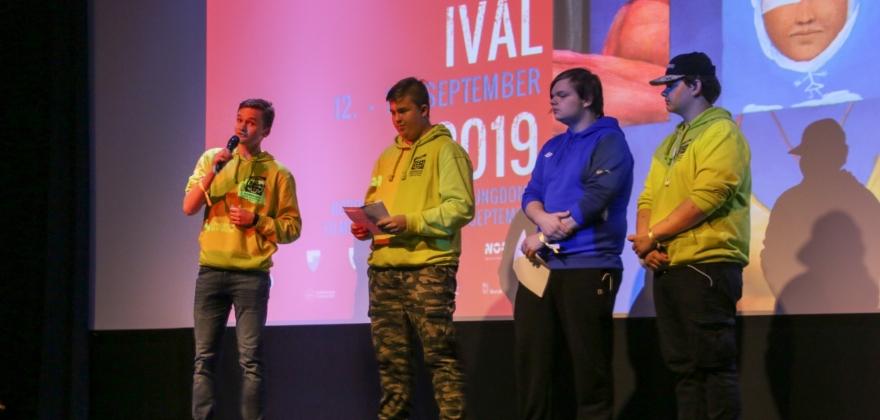 Ungdomsfilmfestivalen åpnet