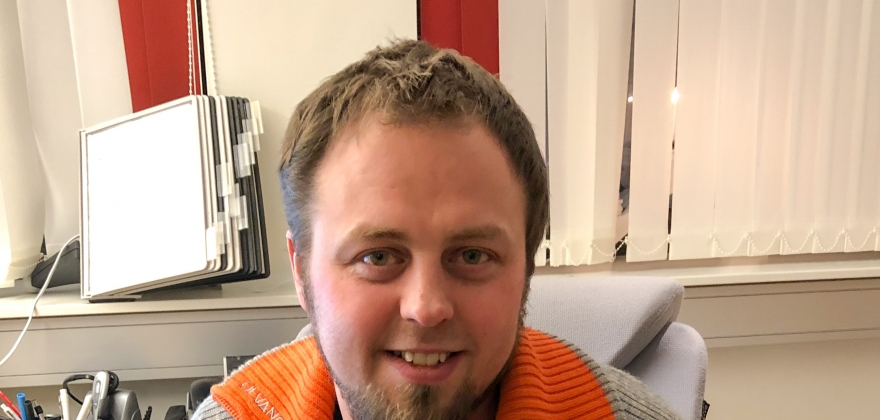 Jonas Johnsen er ny daglig leder i InfraNord