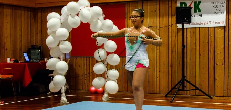Innskriving for gymnastene