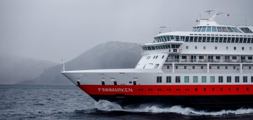 «Finnmarken» kansellerer mange anløp i Øst-Finnmark