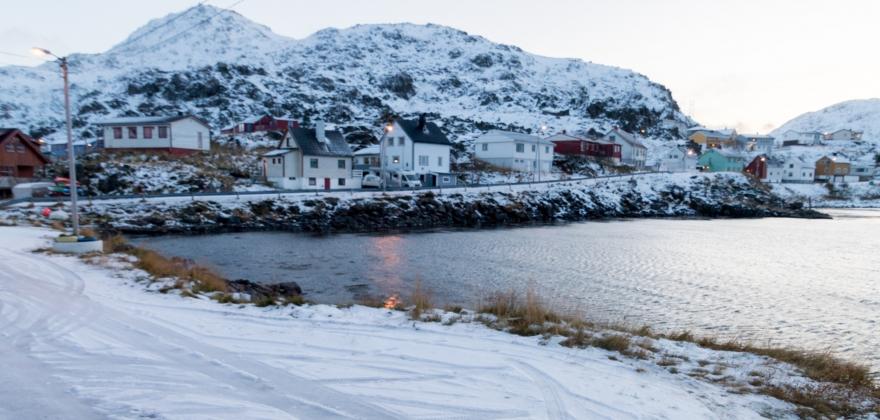 Ny fiskerihavn i Kamøyvær