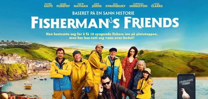 Fisherman`s Friends blir åpningsfilmen på filmfestivalen