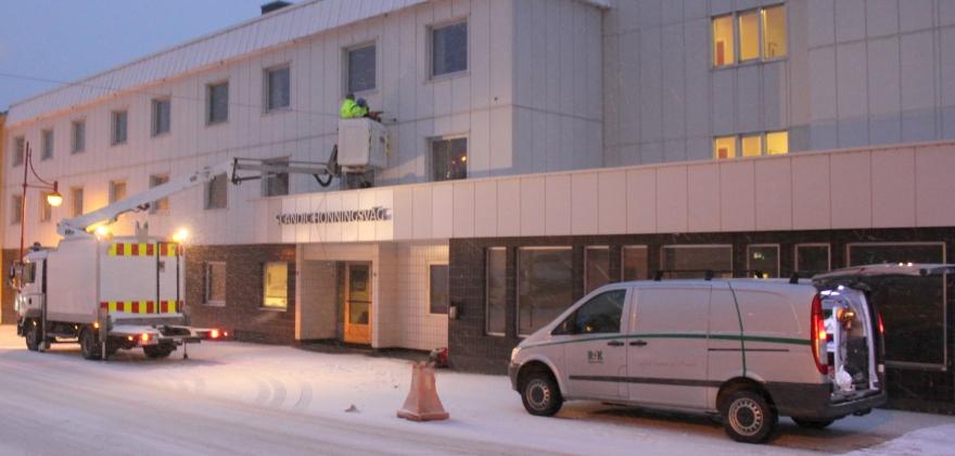 Ber bilistene bruke Sjøgata på onsdag og torsdag