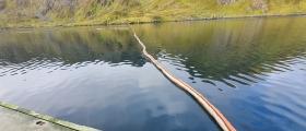Film fra akuttforurensning i Kamøyvær