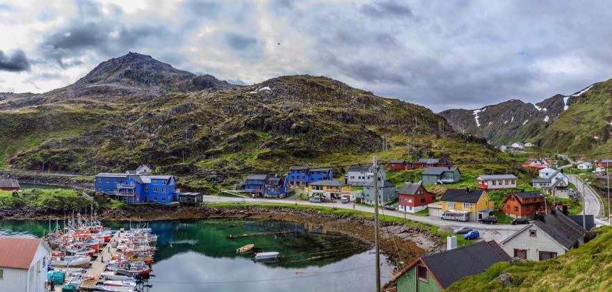 Samisk kultur og kystfiskeren er varemerket