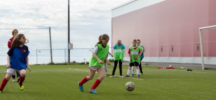 The Liverpool Way Fotballskole i Honningsvåg blir fullbooket