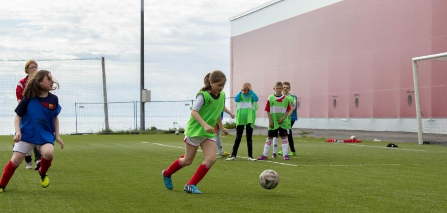 The Liverpool Way Fotballskole i Honningsvåg blir fullbooket