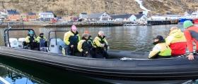 Opplevelse Nordkapp fra sjøsiden