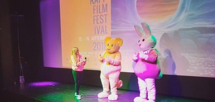Barnefilmfestivalen åpnet