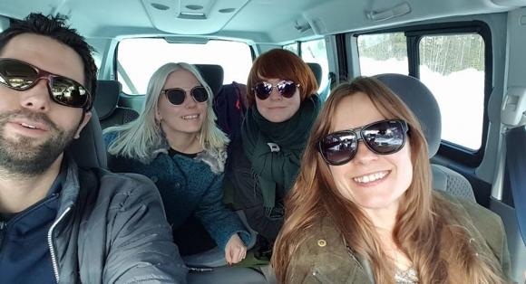 Fotefar og Julie Alapnes besøker Finnmark