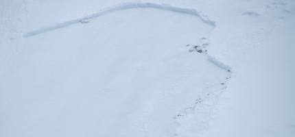 Stor snøskredfare i Honningsvåg-området