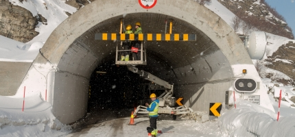 Skarvbergtunnelen åpnet