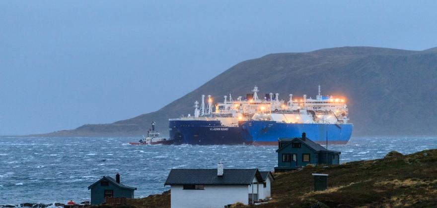 LNG omlasting i Nordkapp igjen
