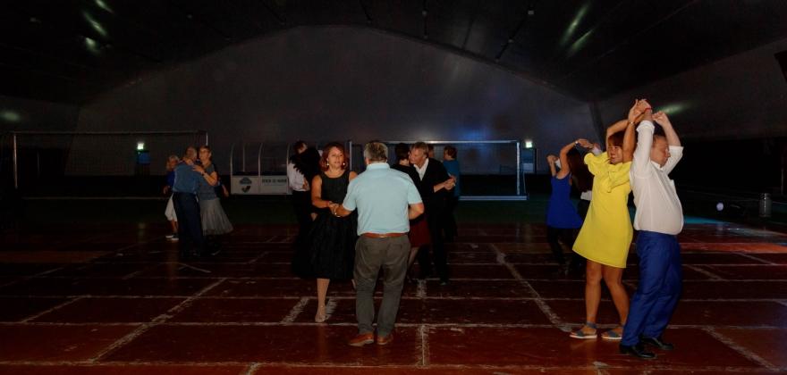 Dansegalla i Honningsvåg – se bildene