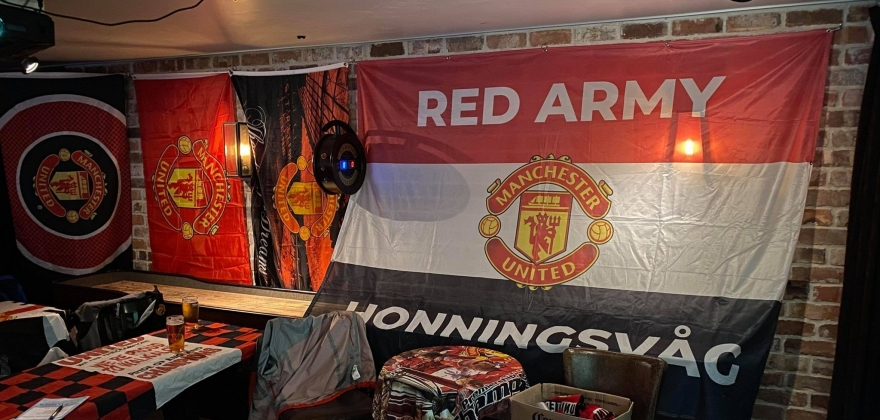 Fornøyde Manchester United-supportere