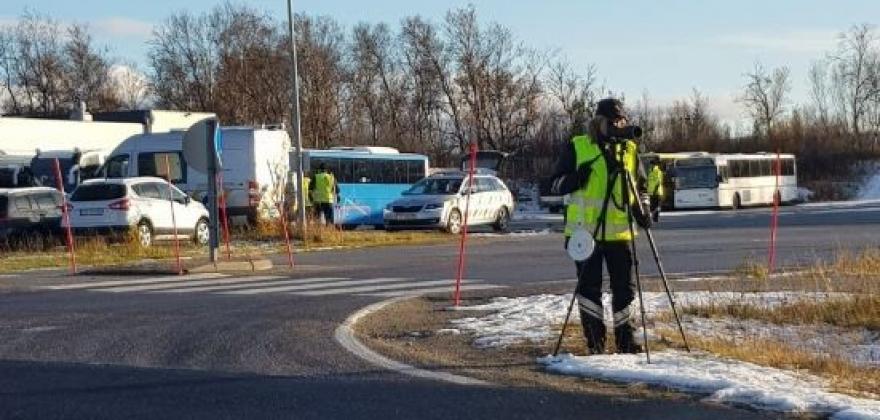 365 kjøretøy ble kontrollert i Lakselv