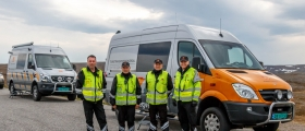 Vegvesenet fornøyd etter tungbilkontroll på Magerøya