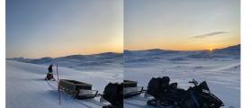 Nordkapp-løypa har blitt åpnet