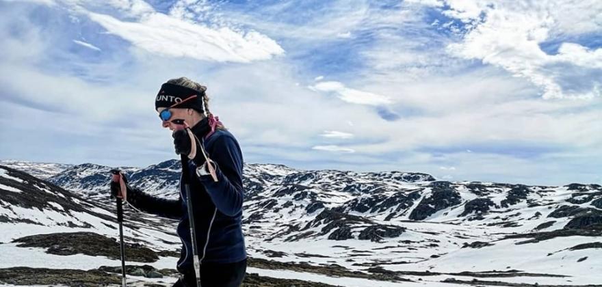 Vanskelige forhold på fjellet for Samuelsen og Johansen