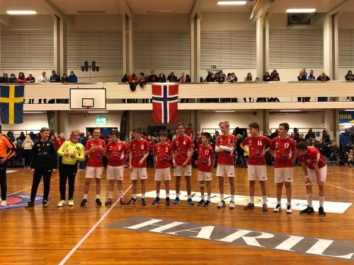 !Hjem til Honningsvåg med sølvmedalje.