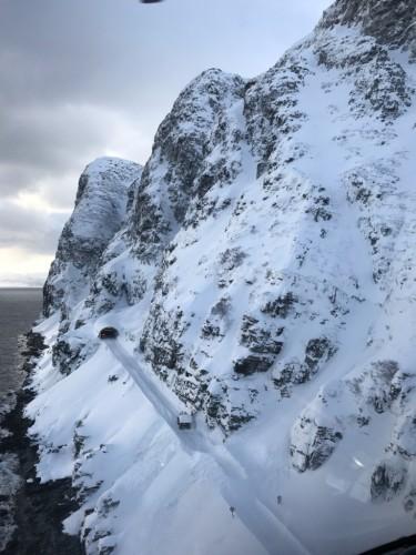 !Skarvbergtunnelen. (Foto: Trond Jøran Nilsen)