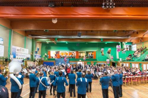 !Honningsvåg musikkforening (HMF) er alltid med på nasjonaldagen.