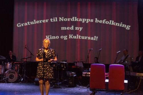 !Kinosjef Edelh Ingebrigtsen ønsket velkommen.