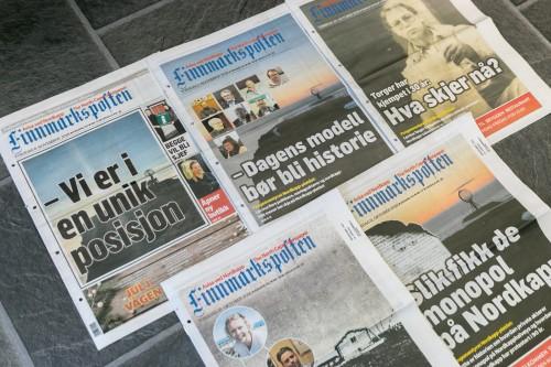 !Forsiden fra oktober og november 2018, totalt 21 sider om Nordkapp.