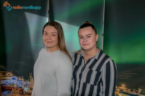 !Arkivfoto: Fra venstre Tiril Olsen og Tora Helgesen