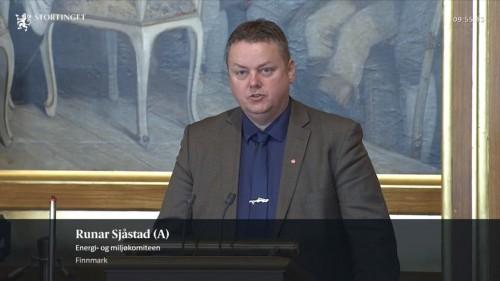!Skjermdump Stortingets nett-tv