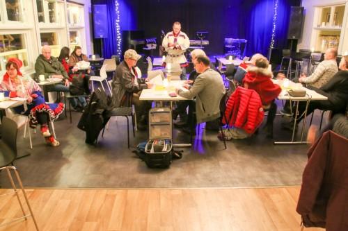 !Mange møtte fram på stiftelsesmøtet hos Perleporten Kulturhus.