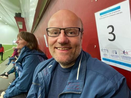!Fotballeder Stig Erling Kristiansen.