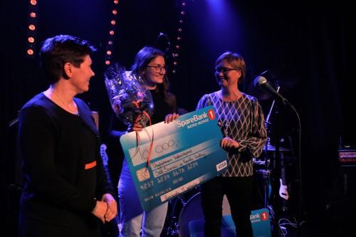 !Guro Martinsen mottok Ungdommens kulturstipend på lørdag.